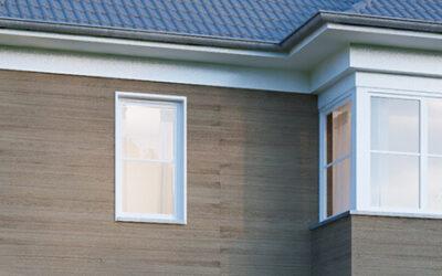 Vergessen Sie den Fassadenanstrich – Kunststoff statt Putz, Klinker & Co.